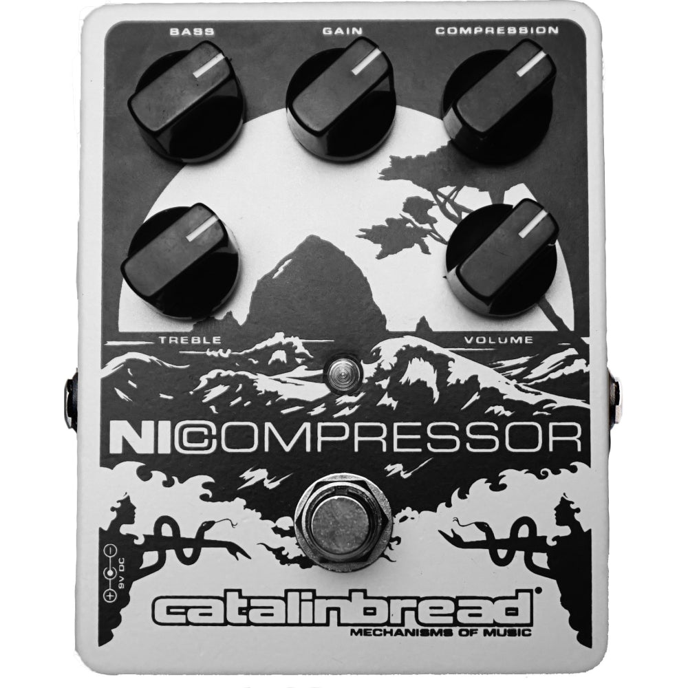 Catalinbread NiCompressor Pedal, Soft Pearl