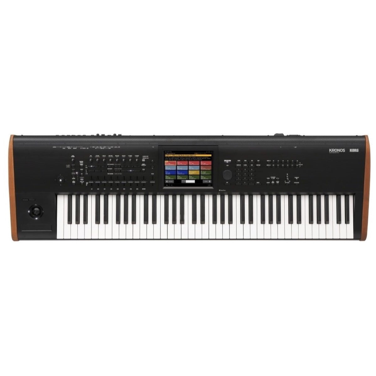 Korg Kronos 7 Music Workstation Keyboard, 73-Key, with Gator Case