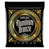 Load image into Gallery viewer, Ernie Ball Aluminum Bronze Acoustic Guitar Strings, P02564, Medium (13-56 Gauge)