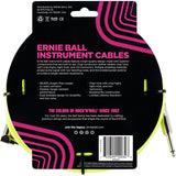 Load image into Gallery viewer, Ernie Ball Braided Instrument Cable, Neon Yellow, 10 Foot