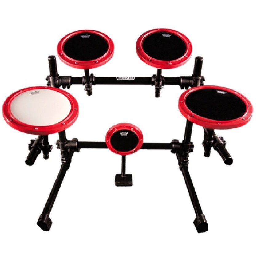 Remo Modular Practice Pad Set with Stand, 5-Piece