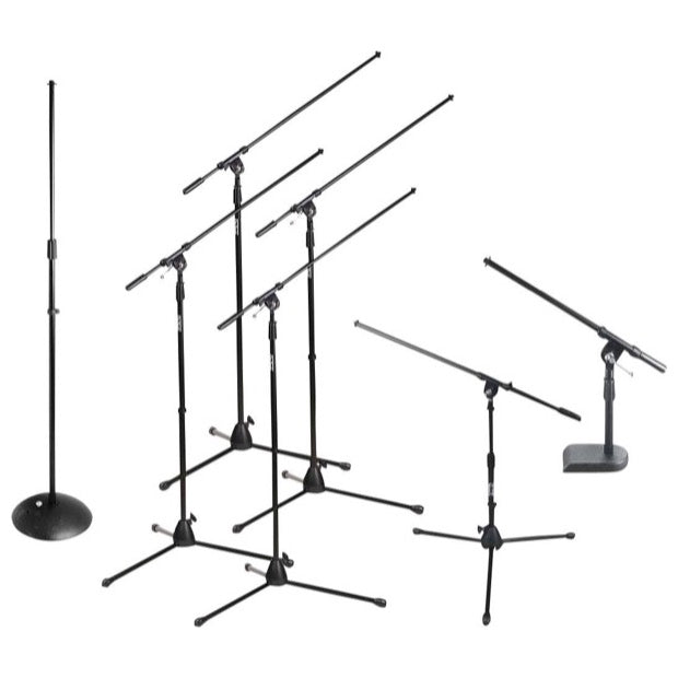 On-Stage Club Pack Microphone Stand Package