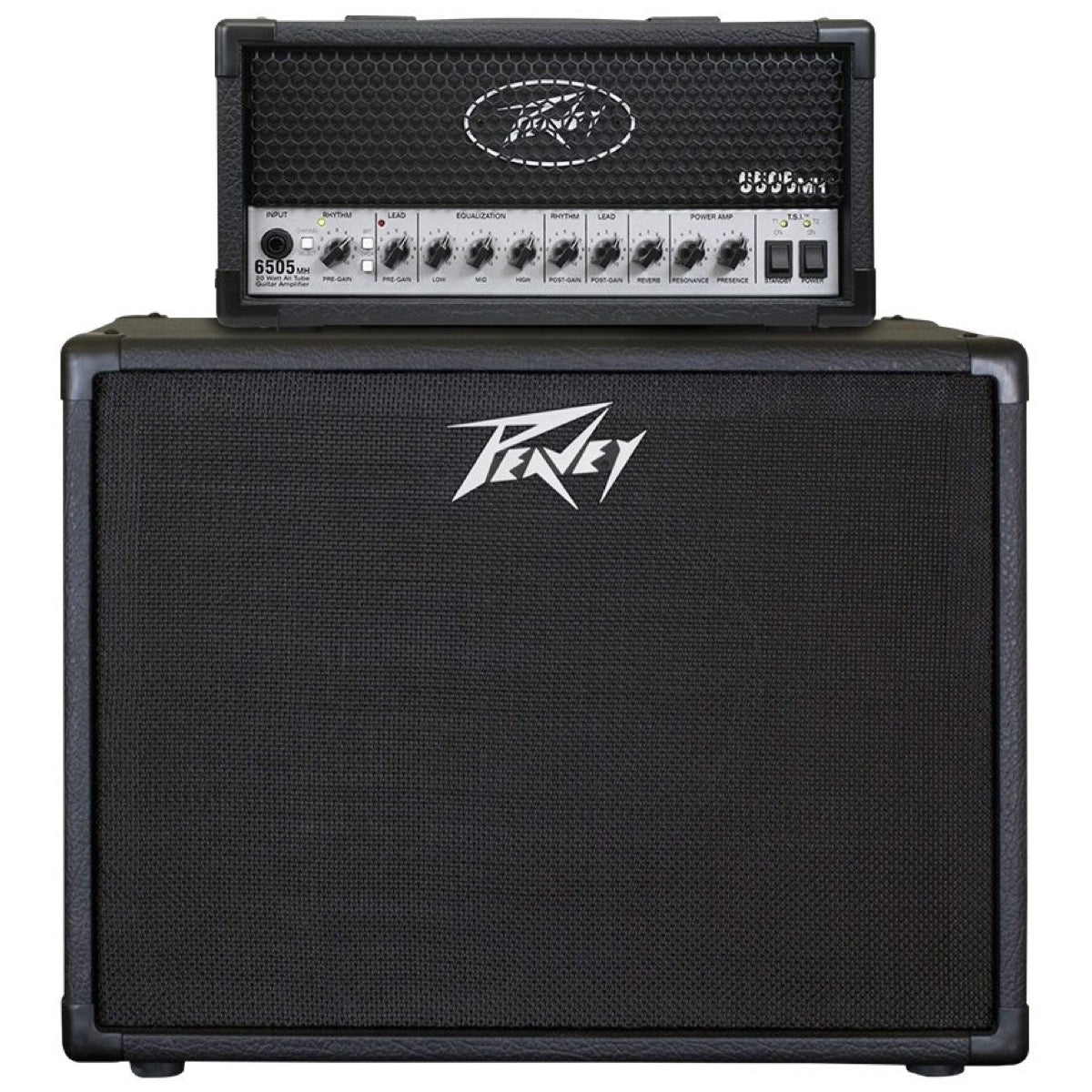 Peavey 6505 Plus Guitar Amplifier Half Stack