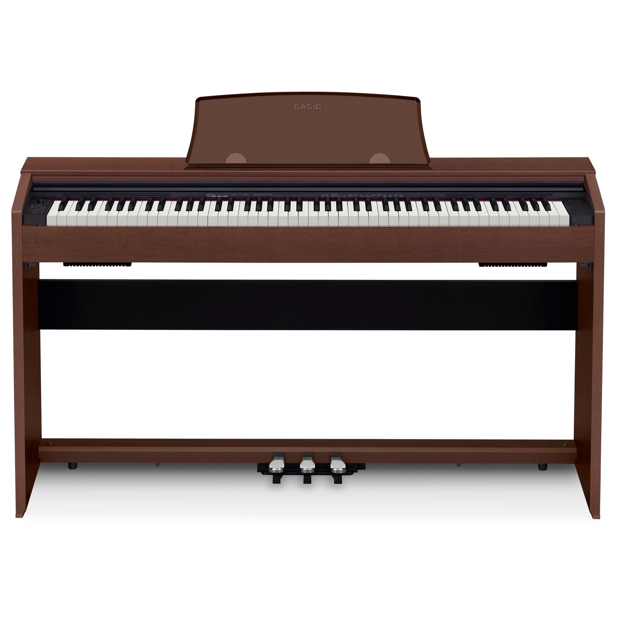 Casio PX-770 Privia Digital Piano, Brown