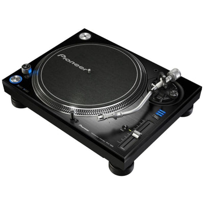 Pioneer DJ PLX-1000 Direct Drive Turntable, with Odyssey FZ1200BL Case