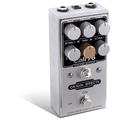 Origin Effects Cali76 Stacked Edition Compressor Pedal