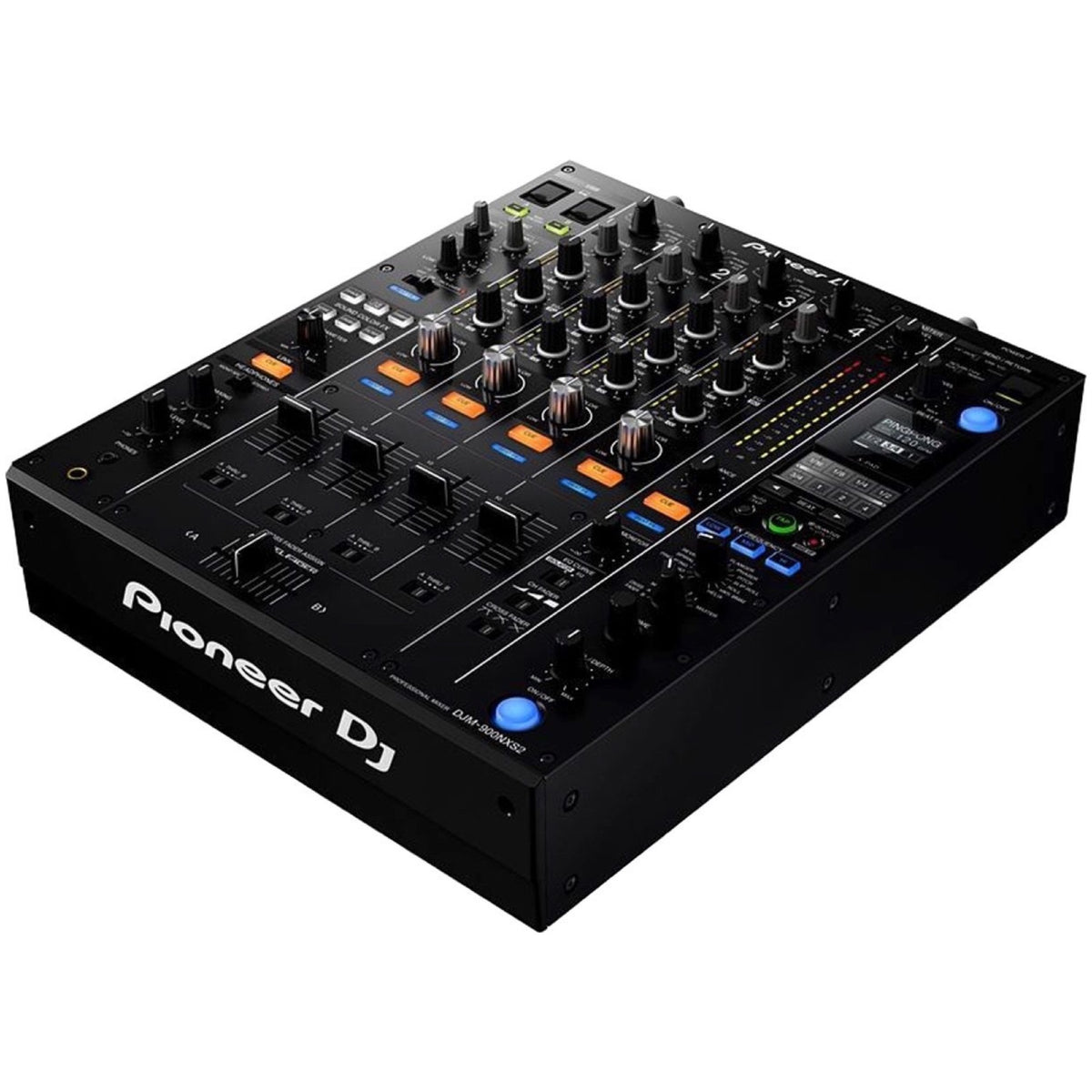Pioneer DJM-900NXS2 Professional DJ Mixer, with Odyssey Vulcan Case