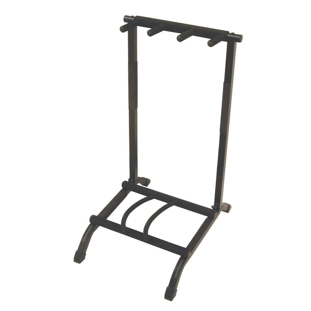 On-Stage GS7361 3-Space Foldable Multi-Guitar Rack Stand