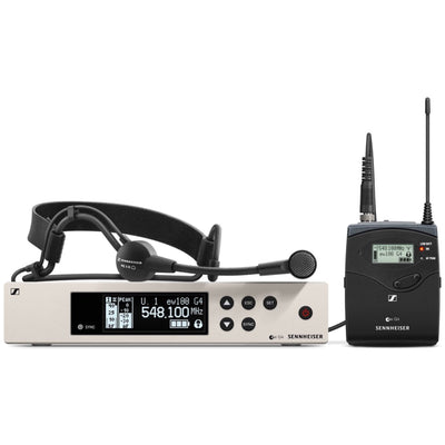 Sennheiser ew100 G4 ME3 Wireless Headset Microphone System, Band A (516-558 MHz)