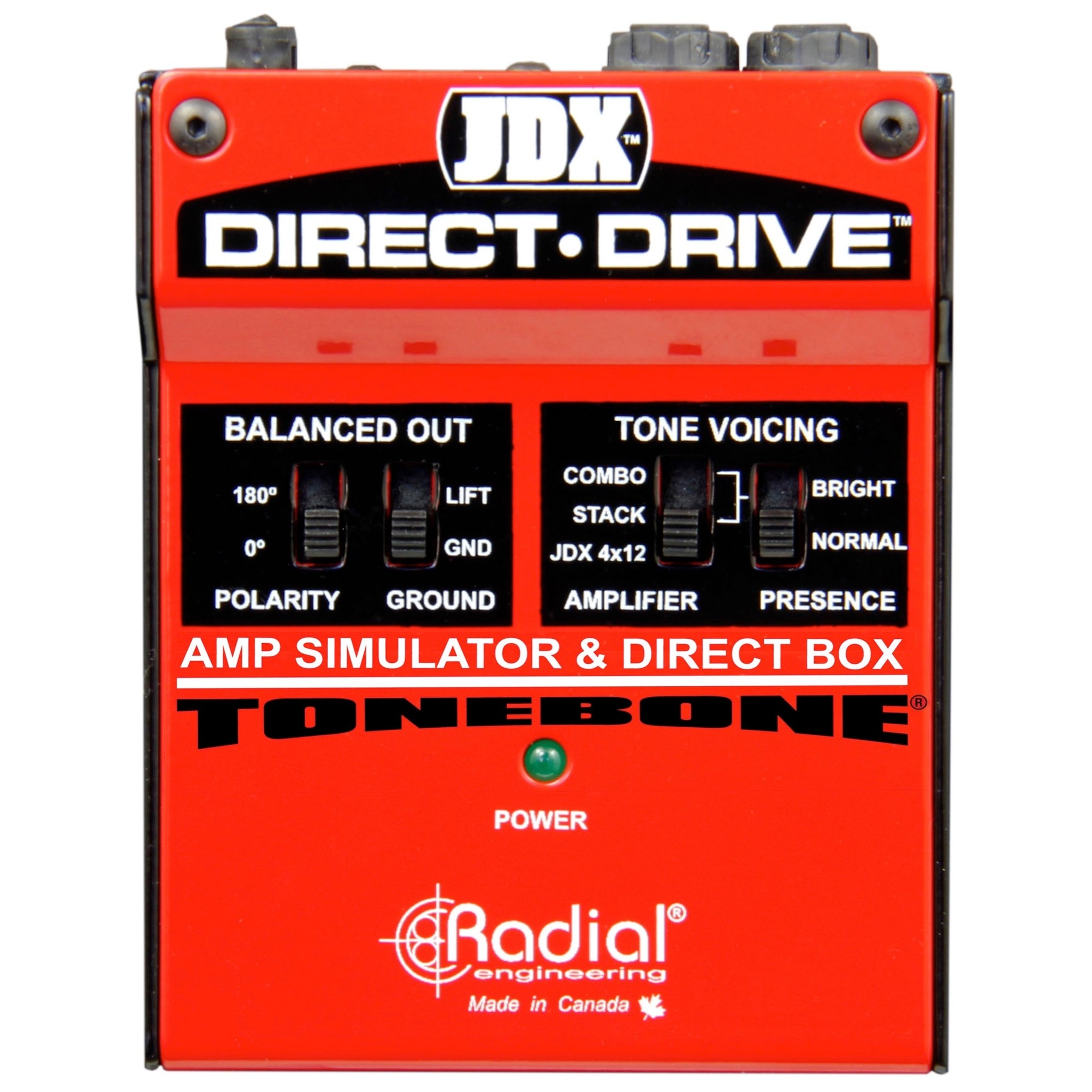 Radial JDX Direct-Drive Guitar Amp Simulator Pedal