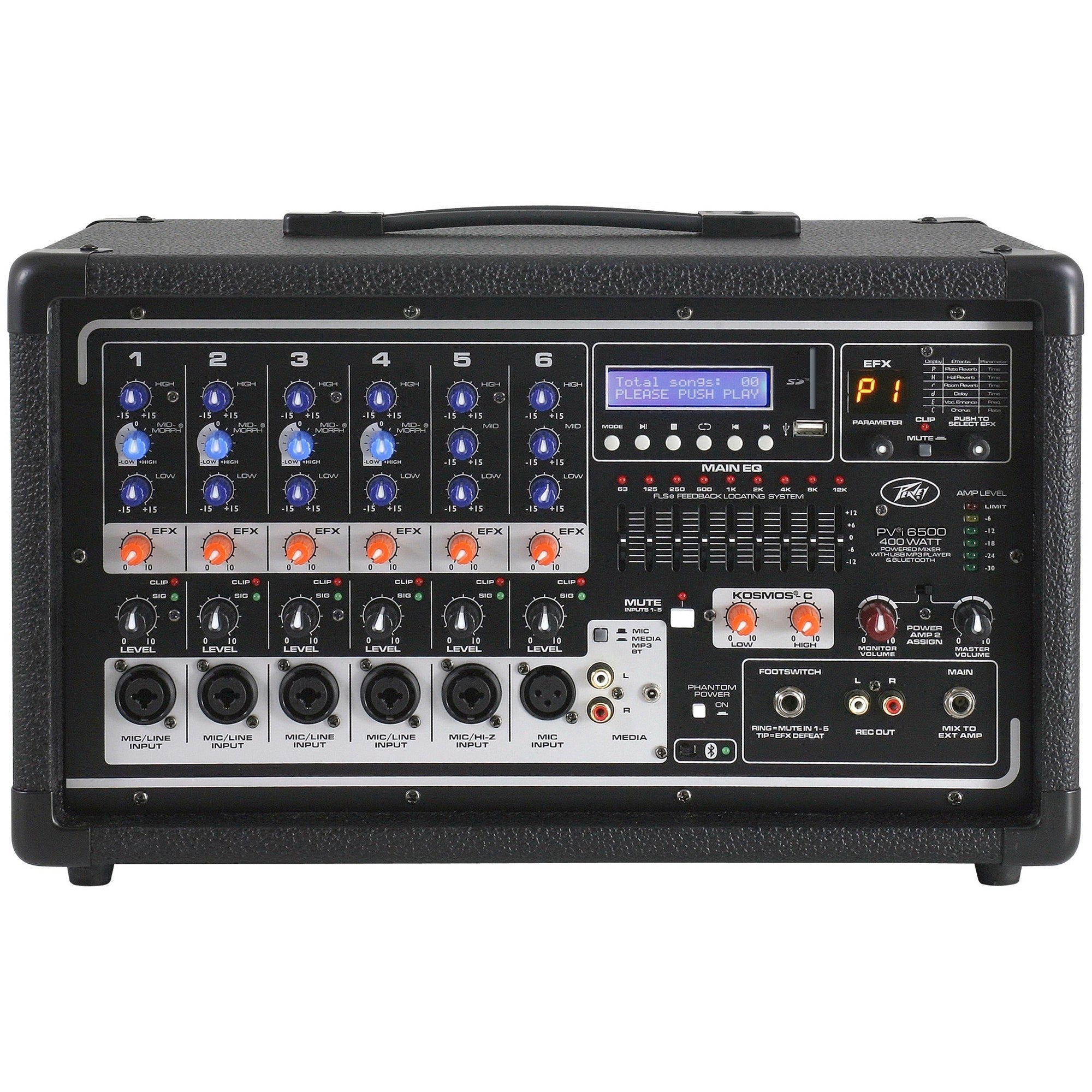 Peavey PVi6500 Powered Mixer with Bluetooth