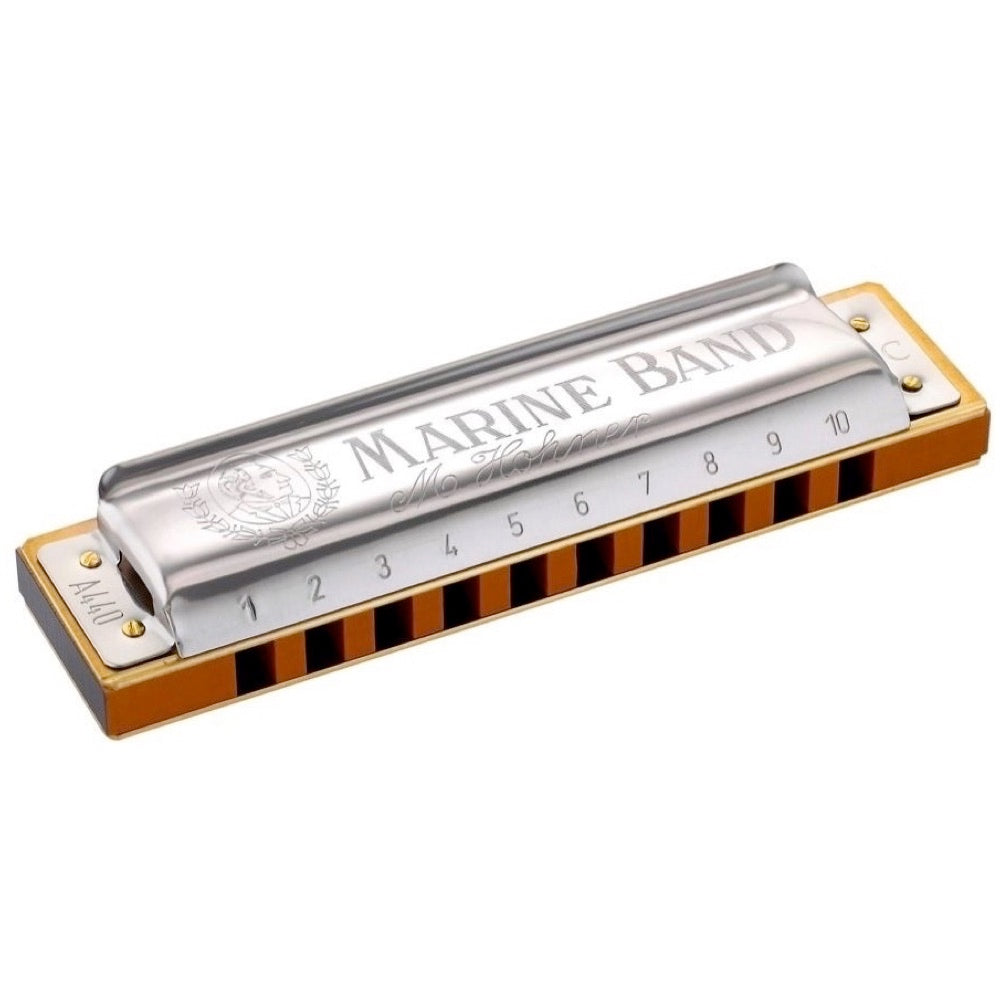 Hohner Marine Band 1896 Harmonica, Key of C