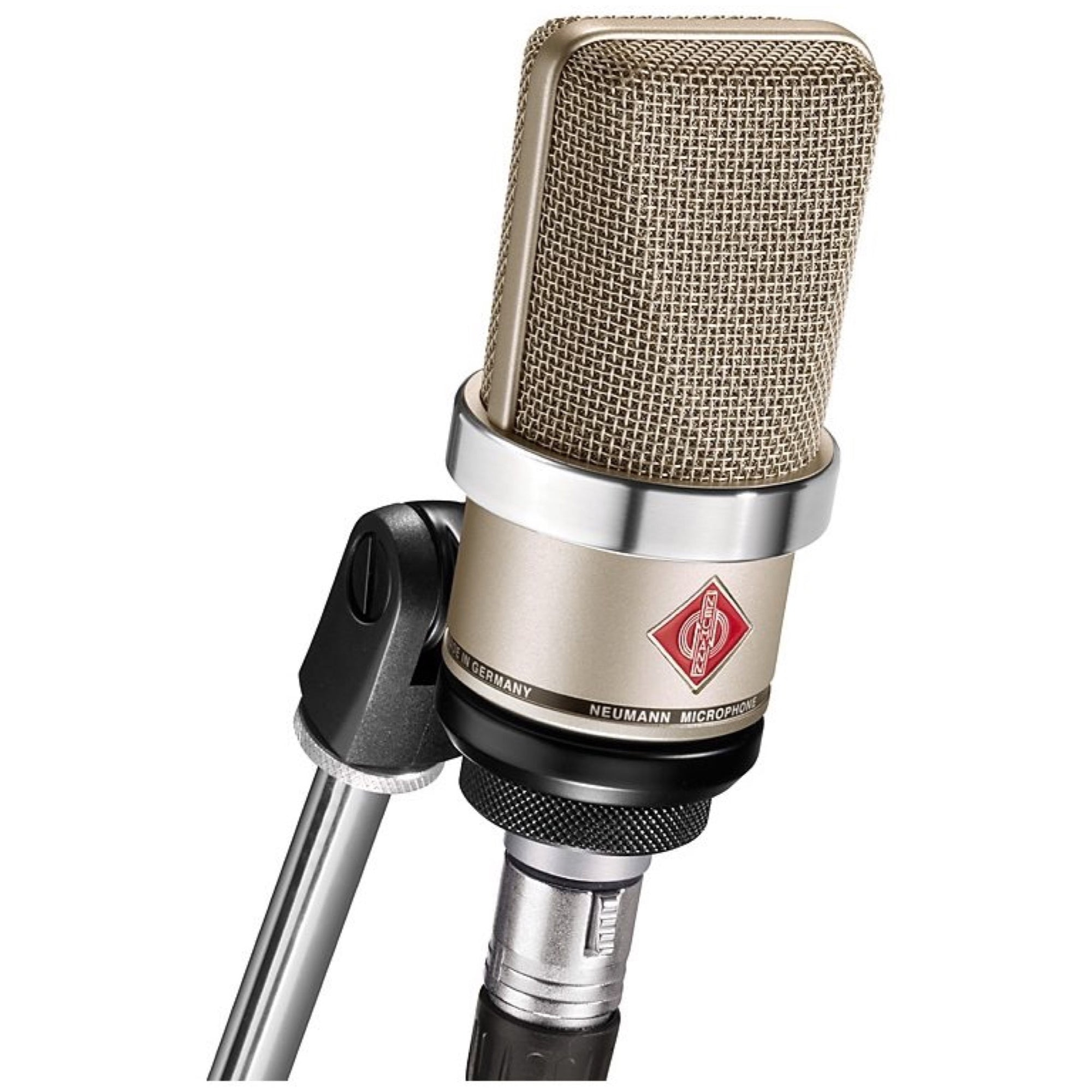Neumann TLM 102 Studio Microphone, Nickel, with Standmount