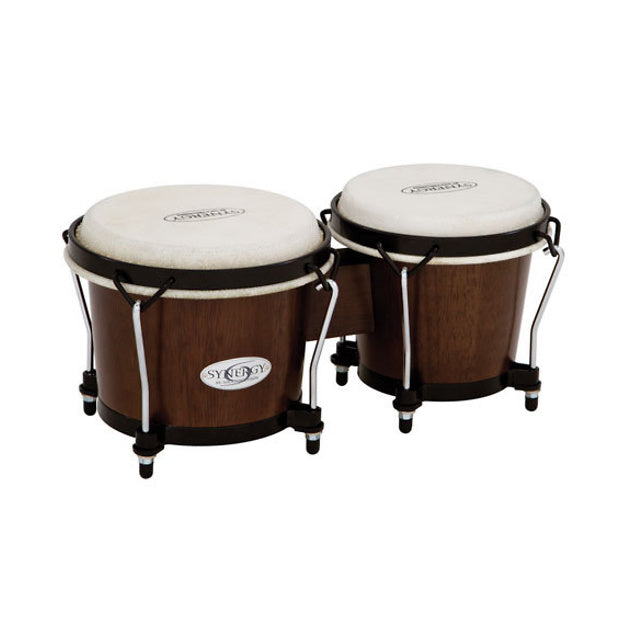 Toca Synergy Bongo Set, Tobacco, 6 and 6 3/4 Inch
