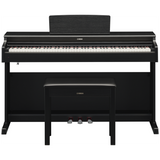 Load image into Gallery viewer, Yamaha Arius YDP-164 Digital Piano, Black Walnut