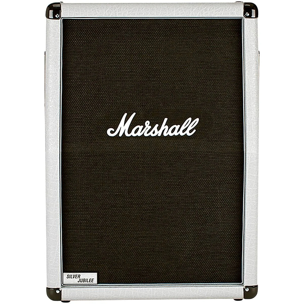 Marshall Studio Silver Jubilee 2536A Guitar Speaker Cabinet, Angled (140 Watts, 2x12 Inch), 8 Ohms