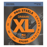 Load image into Gallery viewer, D'Addario EPS160 XL ProSteels Medium Gauge/Long Scale Bass Strings