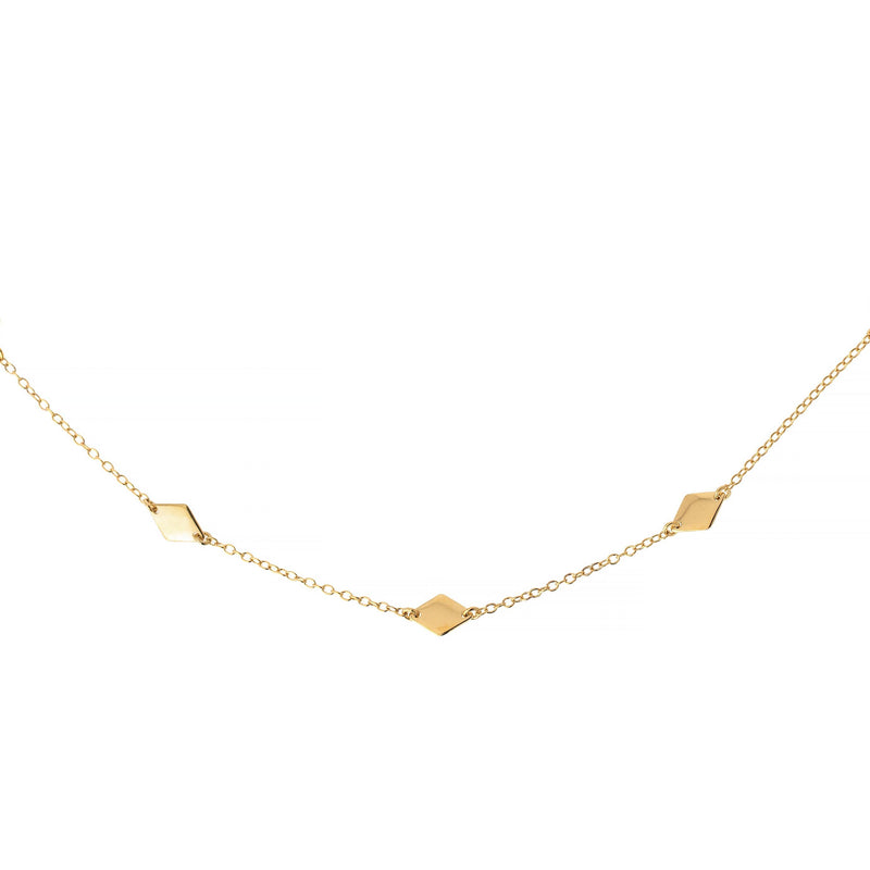 Collar Diamantia Oro