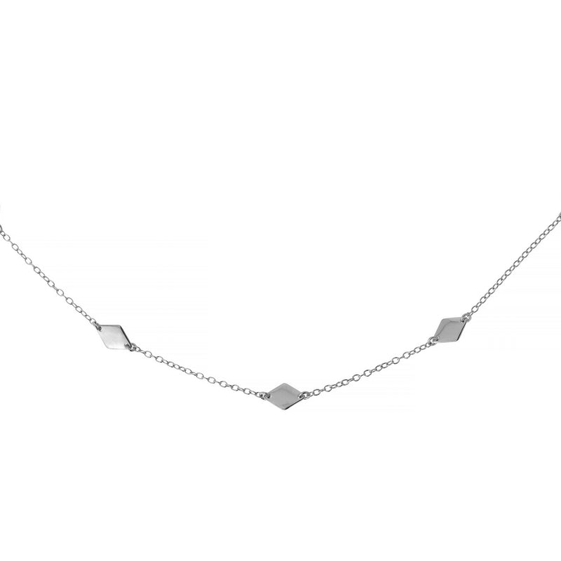 Collar Diamantia Plata