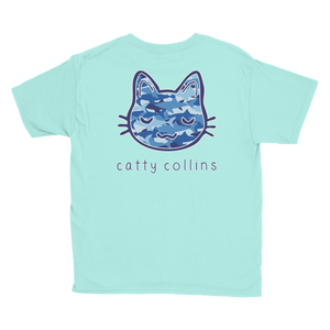 Unisex Shark Camo Cat T-Shirt