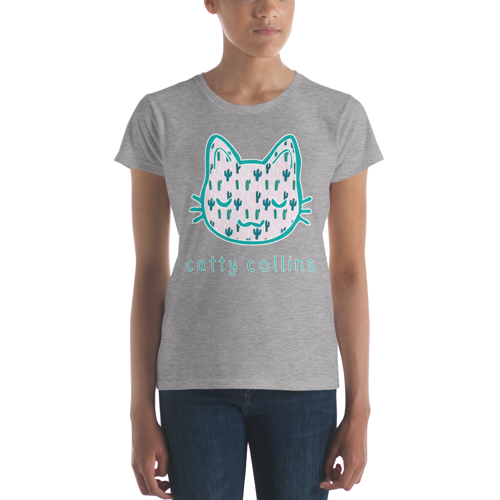 Women's Cactus Cat T-Shirt