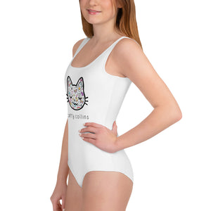 Youth Comic Cat Swimsuit