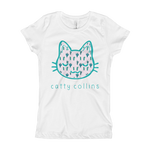 Girls Cactus Cat T-Shirt