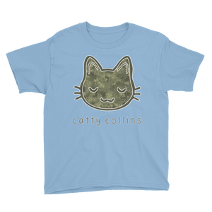 Boys Camo Cat T-Shirt