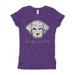 Girls Comic Dog T-Shirt