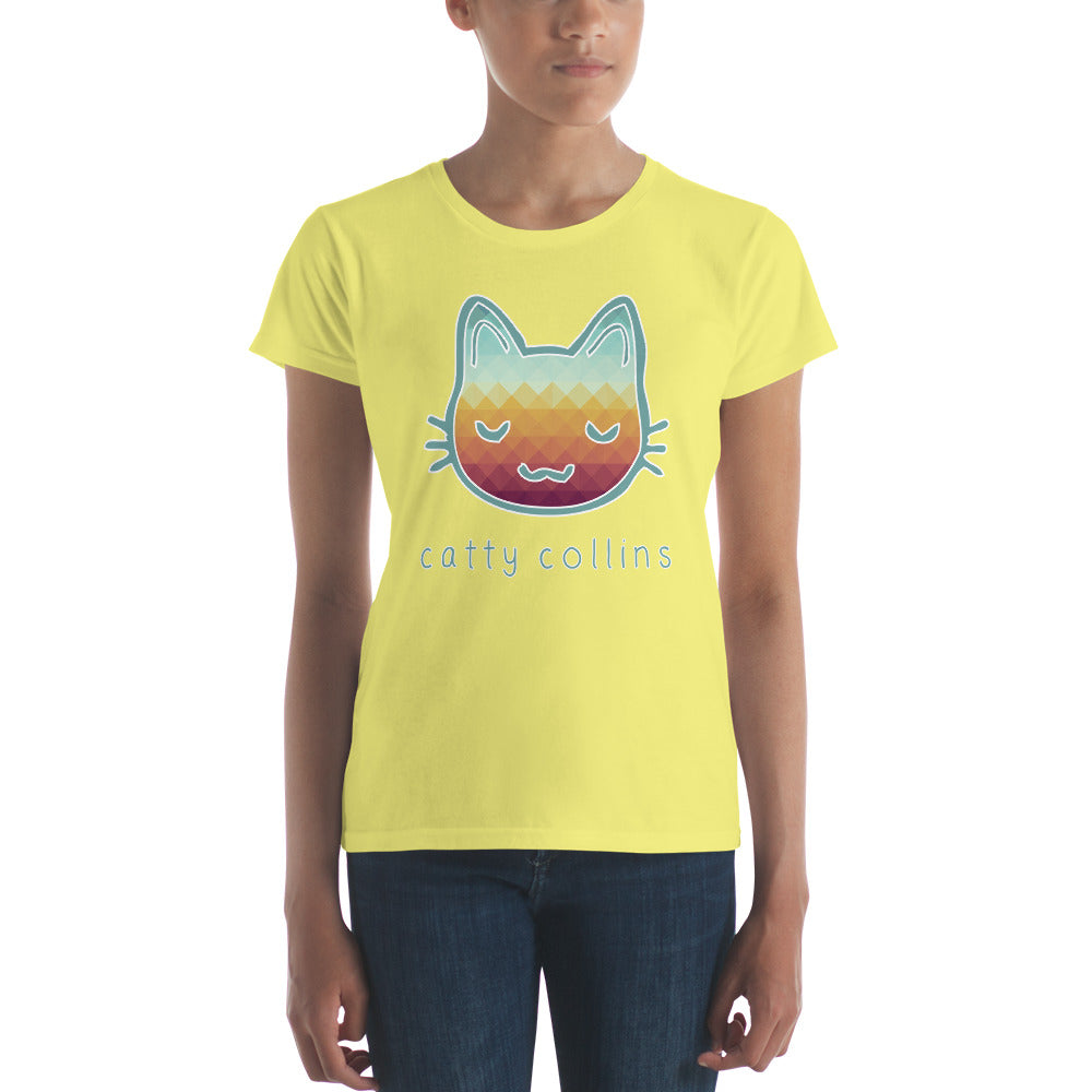 Women's Triangle Pattern T-Shirt