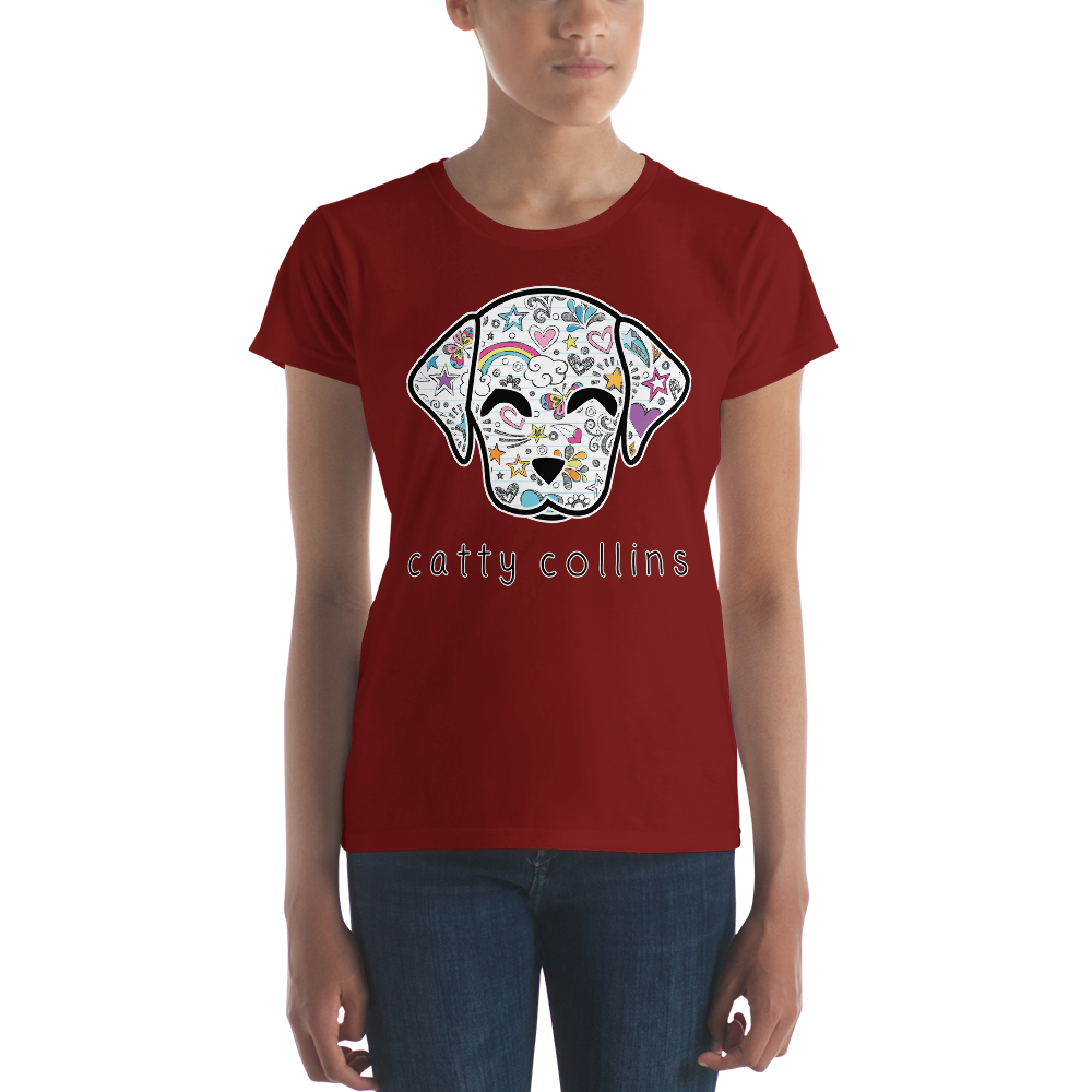 Women's Comic Dog T-Shirt