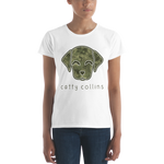 Women's Camo Dog T-Shirt