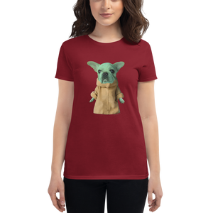 Women's Baby Frenchie Dog T-Shirt