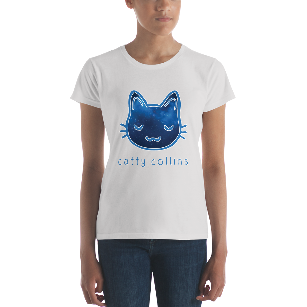 Women's Cosmic Cat T-Shirt