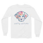 Women's Watercolor Floral Long Sleeve Shirt