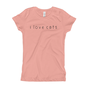 Girls I Love Cats T-Shirt