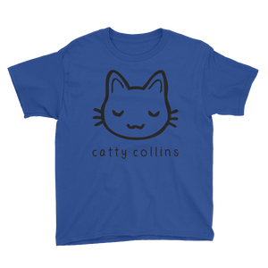 Boys Black Logo Cat T-Shirt