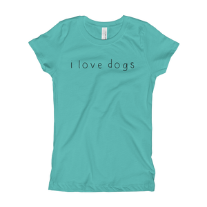 Girls I Love Dogs T-Shirt