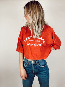 New York Cropped Top