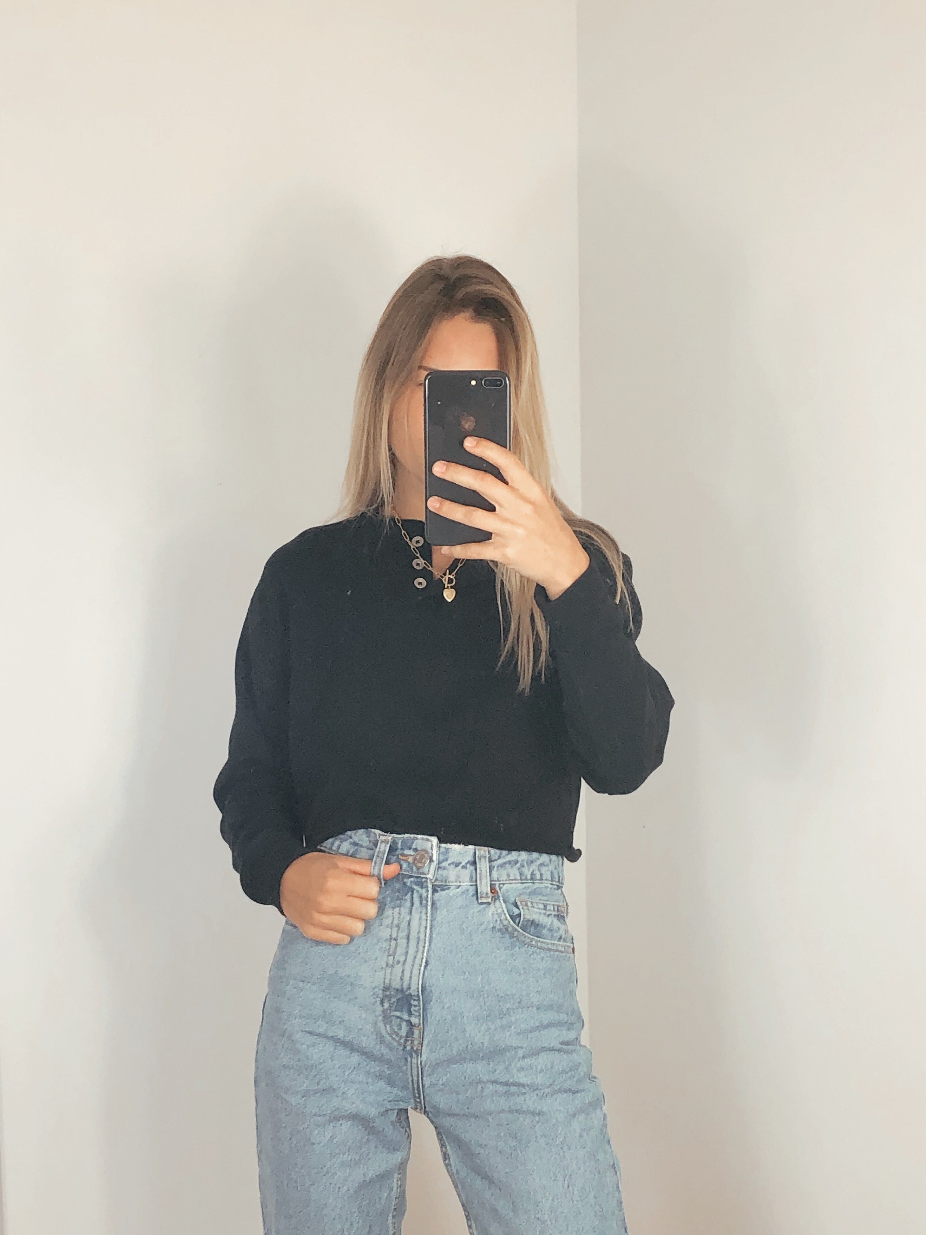 Wild Fable Cropped Crewneck