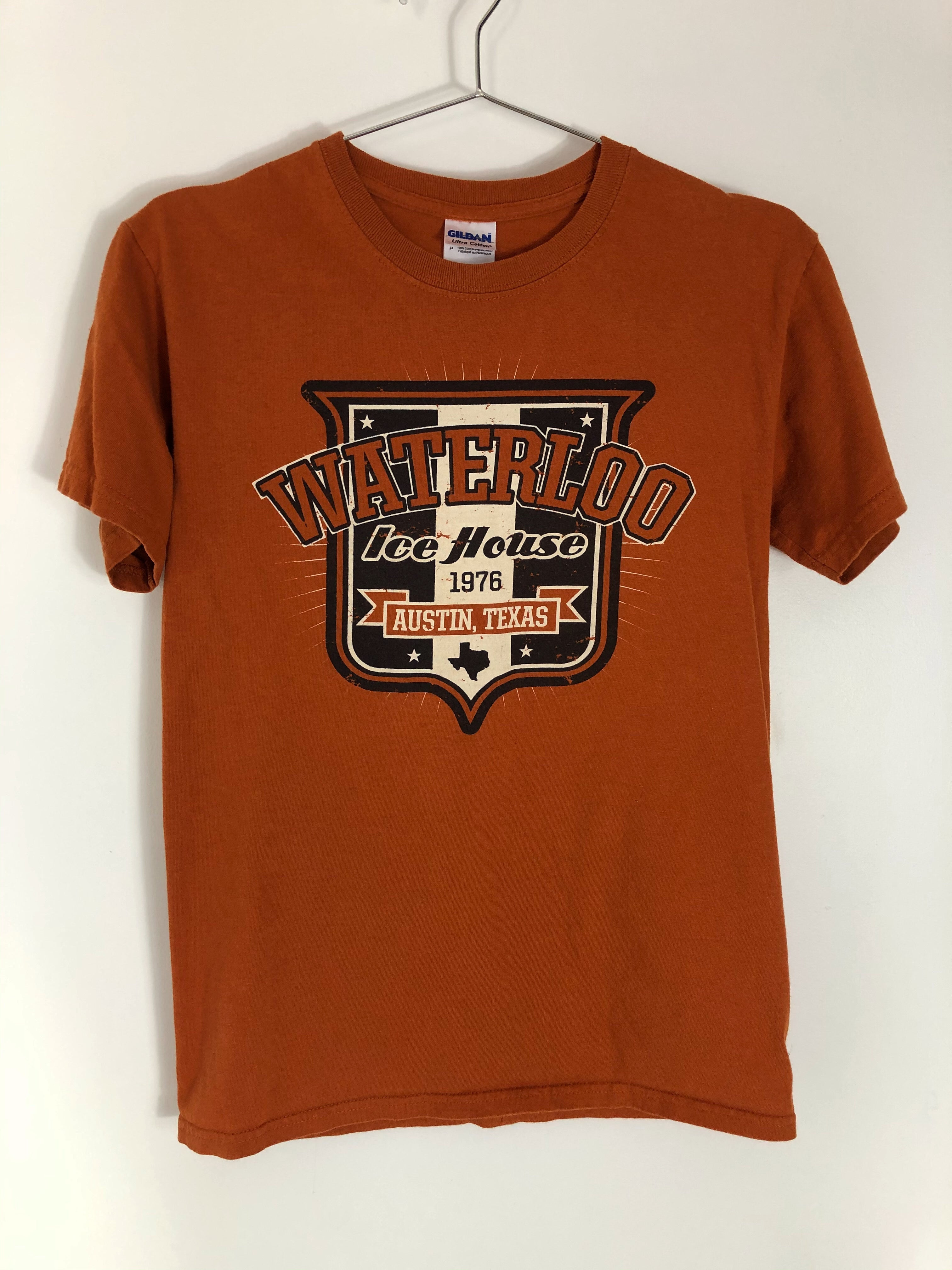 Waterloo Austin, Texas Tee