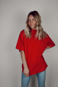 Trend Basics Red T-Shirt