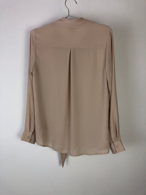Mossimo Long Sleeve Blouse with Tie Detail