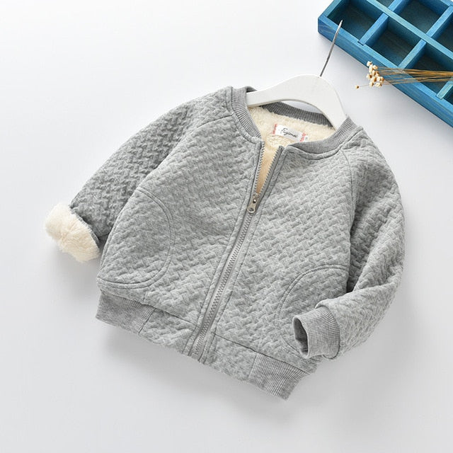 Velvet thick tops boys casual outerwear hoodies - beginnings-lifestyle