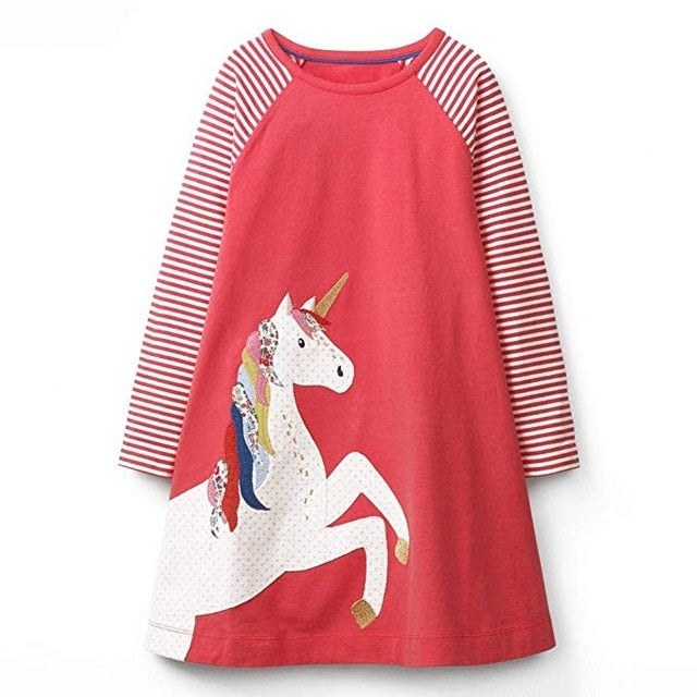Vestidos Children's Clothing Girls Winter Dresses - beginnings-lifestyle