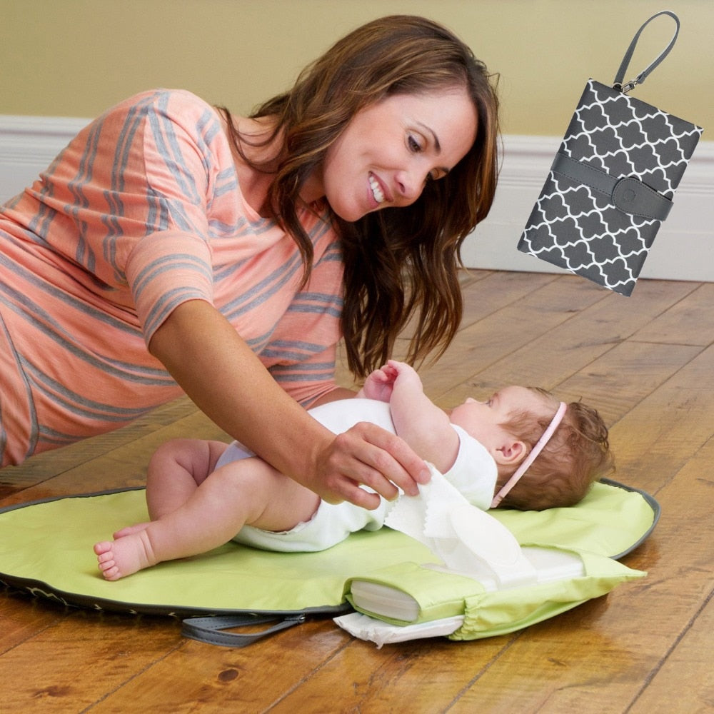 Waterproof Portable Baby Diaper Changing Mat - beginnings-lifestyle
