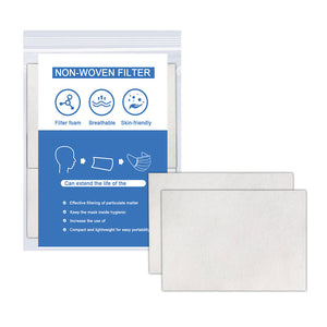 Non Woven Filter Insert for Masks (20 sheets/pack)