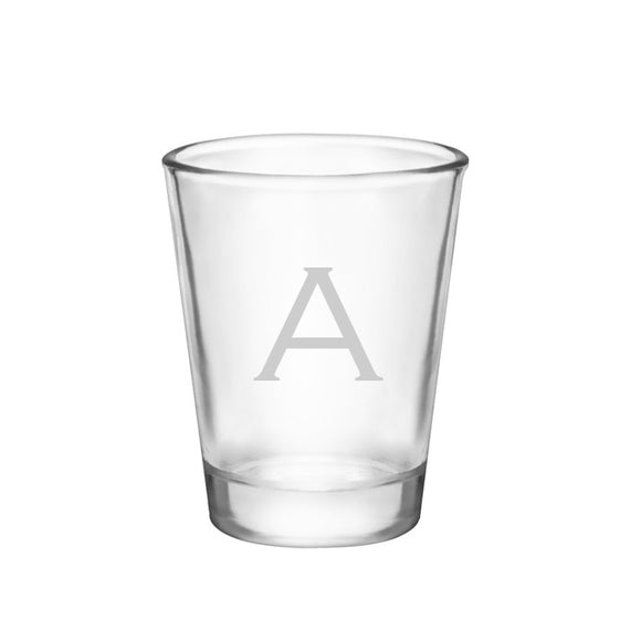 Shot Glass Initial