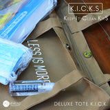 Deluxe Tote K.I.C.K. (Keep-It-Clean-Kit)