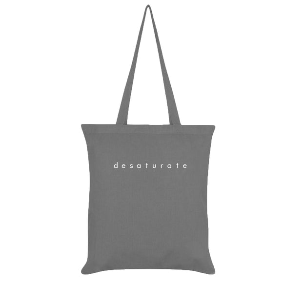 Colored Minimalist Tote bag - Desaturate (Grey)
